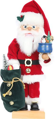(Ulbricht Nutcracker Musicbox Santa Newness! Limited 1000 Pieces 18.70 inches)