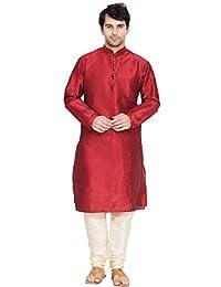 Kurta Pajama for Men Long Sleeve Kurta Pyjama Set Indian Traditional Clothing