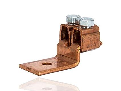 Cobre Conector mecánico, Single y doble sin soldadura Lug, 4/0 – 2