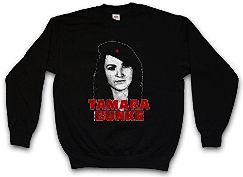 Urban Backwoods Tamara Bunke Sweatshirt – Tania Fidel Cuba Castro Portrait Che Revolution (Tamara Jumper)