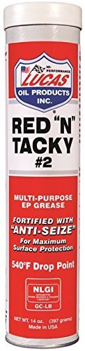 RED''N''TACKY GREASE 14OZ by LUCAS OIL CO MfrPartNo 10005-30