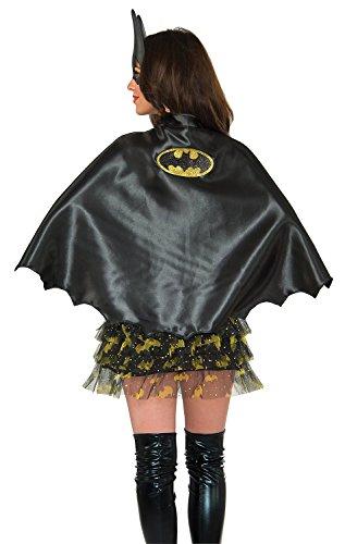 Bat Cape Costumes (Rubie's Costume Co Women's DC Superheroes Batgirl Cape, Multi, One Size)
