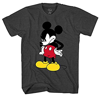 Disney Mickey Mouse Mick U Mad Adult Graphic Tee T-Shirt