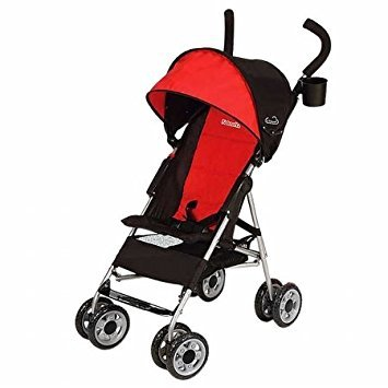 Premium Baby Strollers For Super Lightweight Use (9.5 Pounds) With Infants - Toddlers And Kids - RED-Black Color