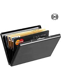 Best RFID Blocking Credit Card Holder, MaxGear™ Stainless...
