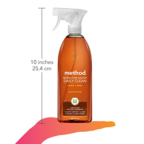 Method Wood For Good Daily Wood Cleaner, 28 Fl. Oz (Pack