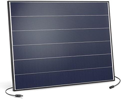 Solarmodul 150 Watt monokristallin 18V mit MC4 Steckverbindungen und neuartiger Schindeltechnik für mehr Leistung, 1031 x 785 x 35 mm Solarpanel esotec 131056