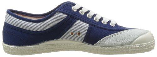Kawasaki 23 Nautico E14 Herren Sneaker Blau - Bleu (Blue White Stripe Navy)