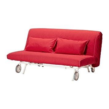 Ikea PS - Cubierta sofá-Cama de Dos Asientos, Vansta roja ...