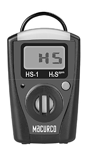 Macurco HS-1 Hydrogen Sulfide H2S Single-Gas Monitor