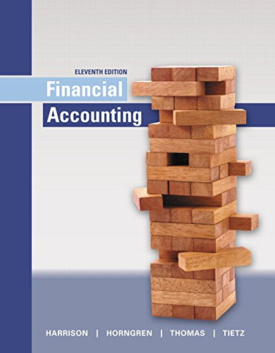 Harrison Card - Financial Accounting Plus MyLab Accounting with Pearson eText - Access Card Package (11th Edition)
