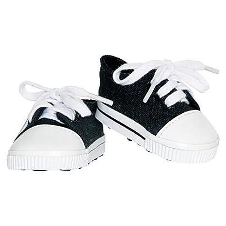 La colección Springfield de Fibre-Craft Zapatillas de Tenis, Color Negro y Blanco: Amazon.es: Hogar