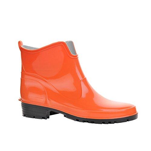 EU KREXUS Paris Agua 42 para Rain Boot de Mujer Naranja Botas 36 SwAr8qS7