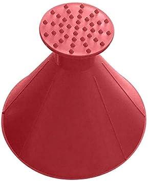 Akeny Magique Voiture Pare-Brise ICES Neige Extracteur Grattoir Outil Portable C/ône Forme Entonnoir Rouge