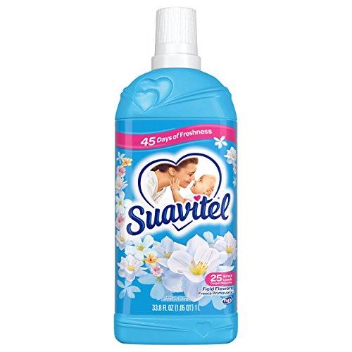 (Suavitel Fabric Softener, Field Flowers - 33.8 Fluid Ounce)