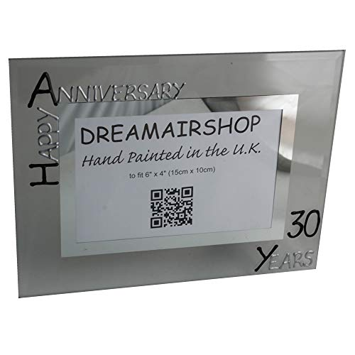 30th Pearl Year Wedding Anniversary Gift Photo Frame (L) ()