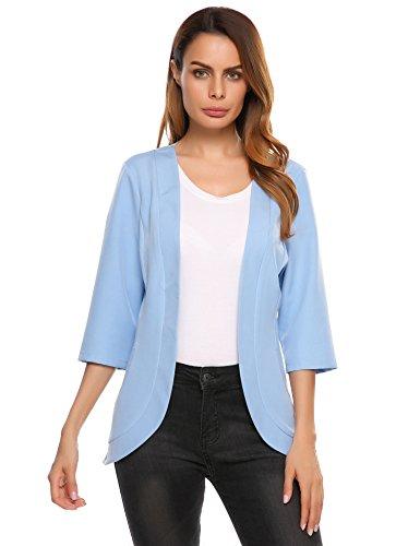 Womens 3/4 Sleeve Jacket - 9