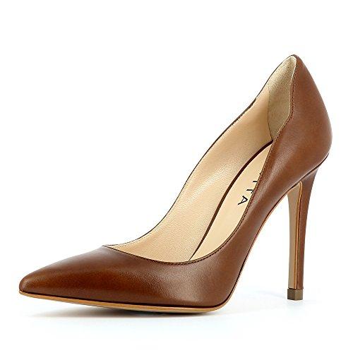 Bout Shoes Evita Fermé Alina Cognac Escarpins Femme wBttZ1d