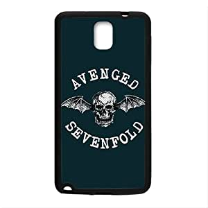 Happy Avenged Sevenfold Fashion Comstom Plastic case cover For Samsung Galaxy Note3