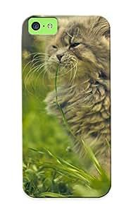 Awesome Ybyuvi-3368-zafbjsp Justingooden Defender Tpu Hard Case Cover For Iphone 5c- Orange Blob