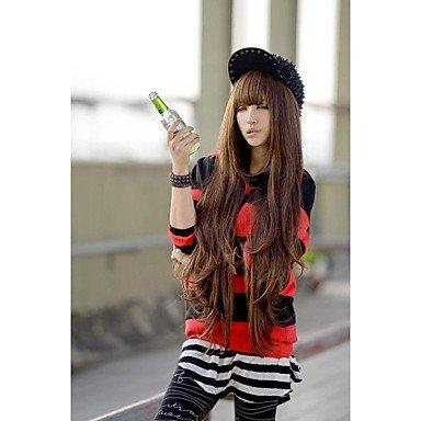 Fashion wigstyle Europea y americana moda largo rizado peluca Fluffy Amazon Ebay venta modelos