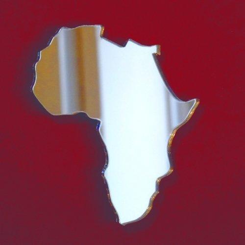 Super Cool Creations Afrika Karte Spiegel – 60 60 60 cm x 38 cm 60cf88