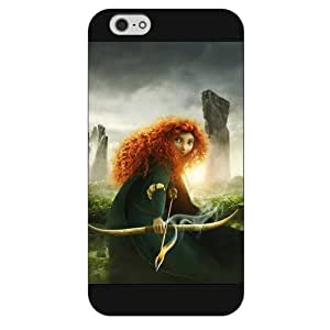 Customized Black Frosted Disney Brave Princess Merida iPhone 6 4.7 Case, Only fit iPhone 6 4.7""