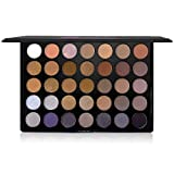 The Beauty Box Artist Eyeshadow Palette | 35 Color Blendable Pigmented Nude Warm Eyeshadow | Matte and Shimmer Makeup for Every Skin Tone Cosmetics | The Ultimate Smoky Eye Collection