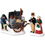 Department 56 Dickens Village The Coffee Stall, Set of 2