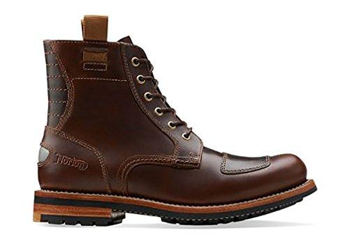 Clarks Men S Norton Rise Cognac Leather Us 7 5 M Frenzystyle