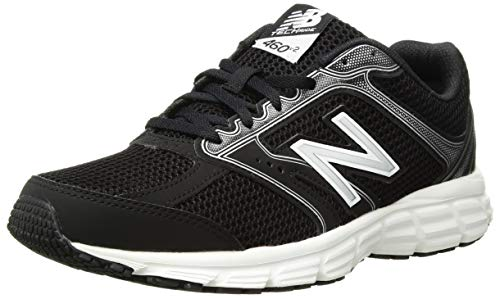 New Balance Women's 460v2 Cushioning Running Shoe, Black, 5.5 D US