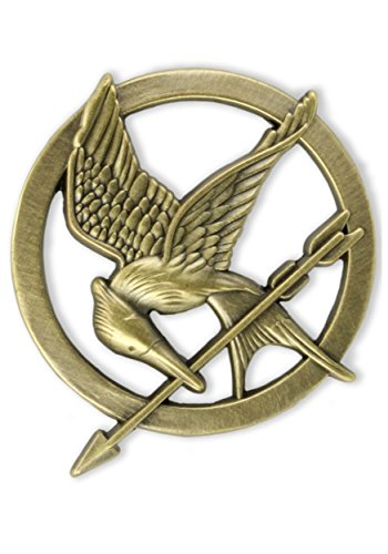 Katniss Costume Child (NECA The Hunger Games: Catching Fire Mockingjay Pin Prop Replica)