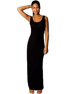 KEHUMORS Womens Scoop Neck Casual Sleeveless Tank Top Long Maxi Dress for Women Sundress