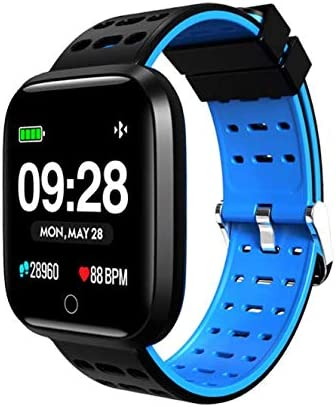 Amazon.com: Smart Watch, Bluetooth Bracelet Fitness Tracker ...