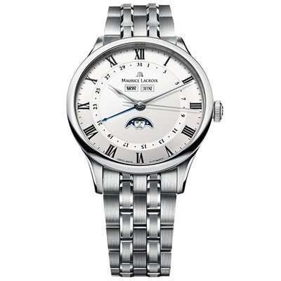 Maurice Lacroix Masterpiece Tradition Phase de Lune Men's Automatic Watch - MP6607-SS002-112