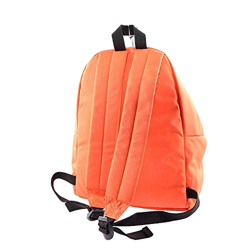 London For Size Polyester Backpack Bag Women Boy Arancione Only qUxrIfUw