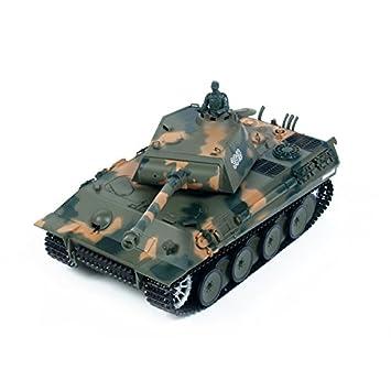 RCTecnic Tanque Teledirigido RC German Panther Escala 1:16 ...