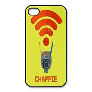 Fashionable Creative Chappie Cover case For iPhone 4,4S JZ6K93336
