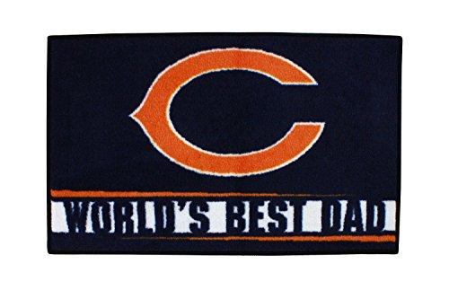 Chicago Bears Worlds Best Dad Starter Floor Mat