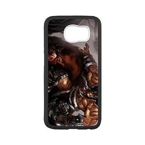 Samsung Galaxy S6 White phone case World of Warcraft Rexxar WOW0715109
