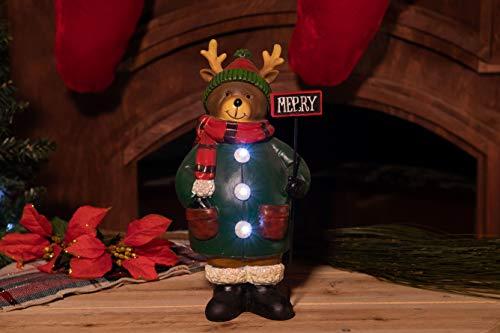 Outdoor Christmas Light Up Reindeer in US - 9