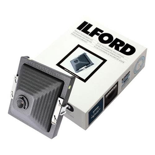 Ilford Direct Positive Harman Titan Pinhole Camera Kit with 72mm Wide-Angle Cone, Exposure Calculator by Ilford