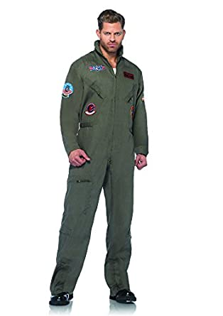 Amazon.com: Top Gun Men's Flight Suit Adult Costume: Clothing