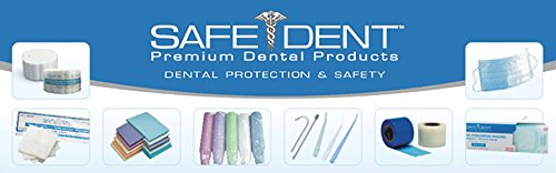 Safe-Dent Disposable Dental Medical Ritter B Paper Tray Covers 8.50 inches x 12.25 inches Pack of 1000 (Rose)