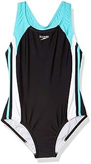 Speedo Womens Swimsuit One-Piece Infinity Splice Thick Strap
