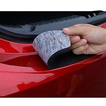 Autocollant de protection en fibre de carbone pour pare-chocs de 500 500 x pare-chocs arri/ère