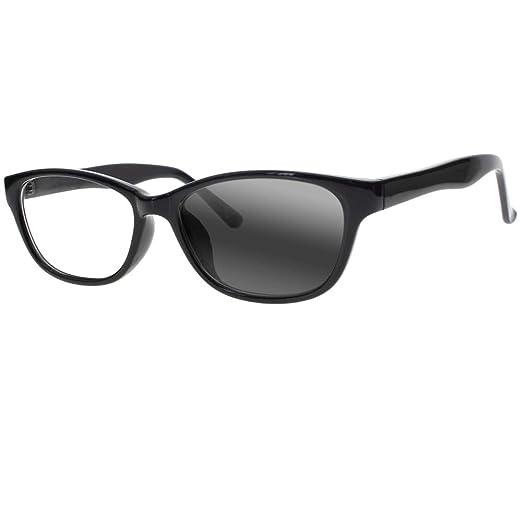 6f9cf09618 Fashion Women Cat Eye Bifocal Transition Photochromic Reading Glasses  Sunglasses Readers (Black