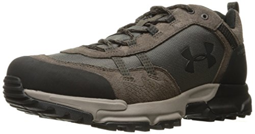 Under Armour Grip Cap - Under Armour Outerwear Men's Post Canyon Low Waterproof Hiking Boot, Maverick Brown (100)/Black, 10