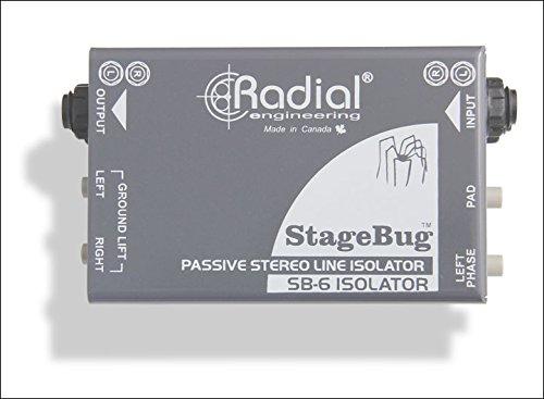 Guitar Isolation Box (Radial StageBug SB-5 Laptop DI)