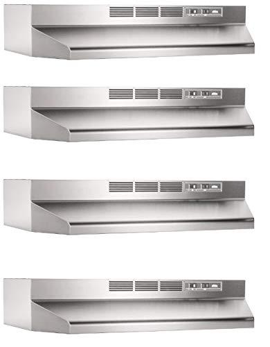 Broan-NuTone 413004 Range Hood, 30-Inch, Stainless Steel (Fоur Расk)
